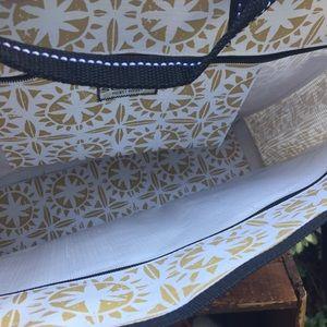 Scout Bags - Scout pocket rocket tan white canvas tote 3893